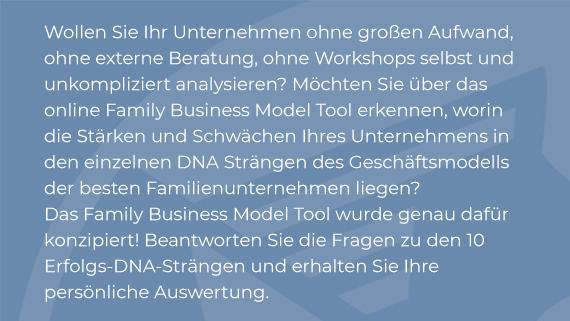 family business model tool